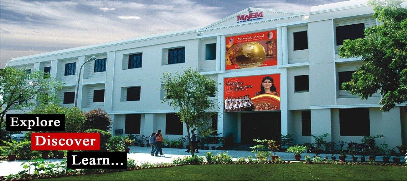 Maharishi Arvind Institute of Science & Management : Job Oriented & Professional Education