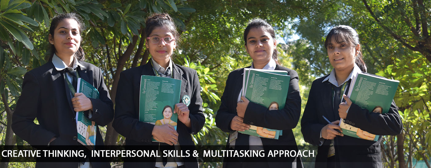 Jayoti Vidyapeeth Women's University : Dynamic and Interdisciplinary Learning Environment